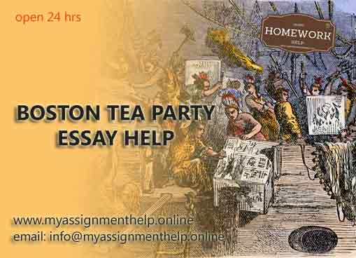 Boston tea party essay help online