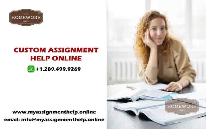 custom assignment help online