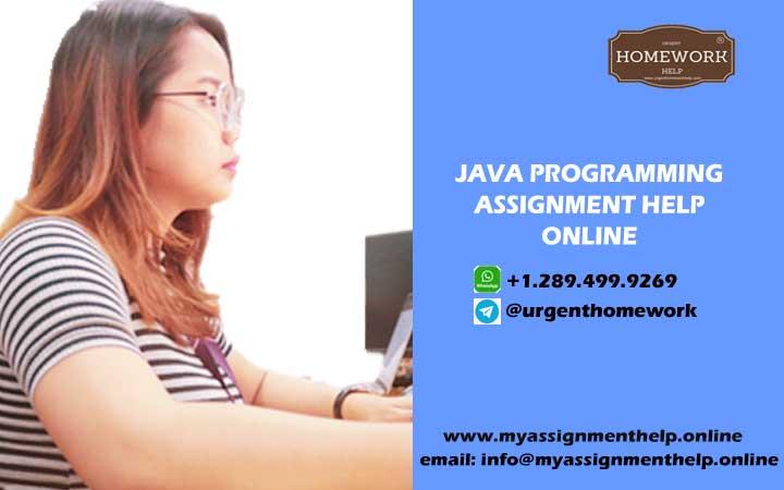 Java programming assignment help online