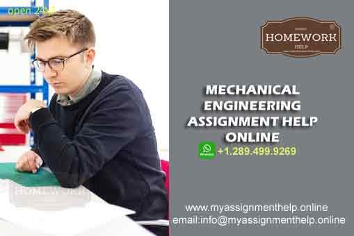 mechanical engineering assignment help online
