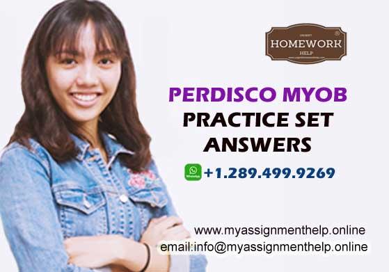 Perdisco MYOB AccountRight assignment help online